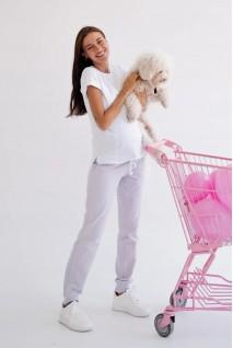 Спортивные брюки для беременных To be 4040262-1 лавандовый