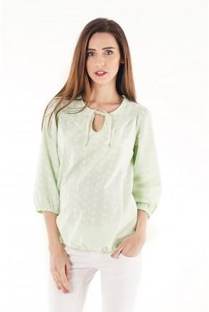 Блуза 704073 салатовый для беременных