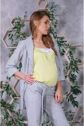 Жакет 3163625 серый для беременных