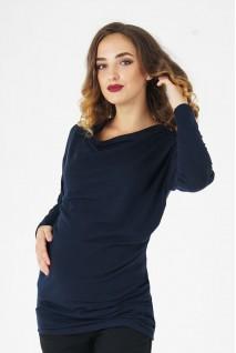 Джемпер 4035647 темно-синий для беременных
