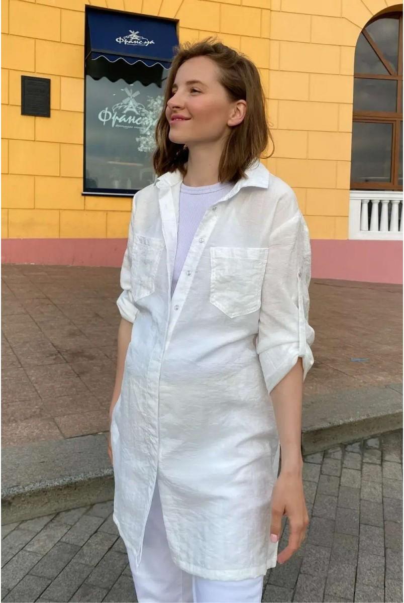 Блуза (рубашка) для беременных To be 1268741 молочный