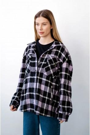 Рубашка для беременных и кормления To be 4368222 лавандовый
