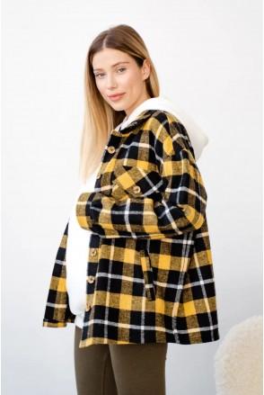 Рубашка для беременных и кормления To be 4368222 желтый