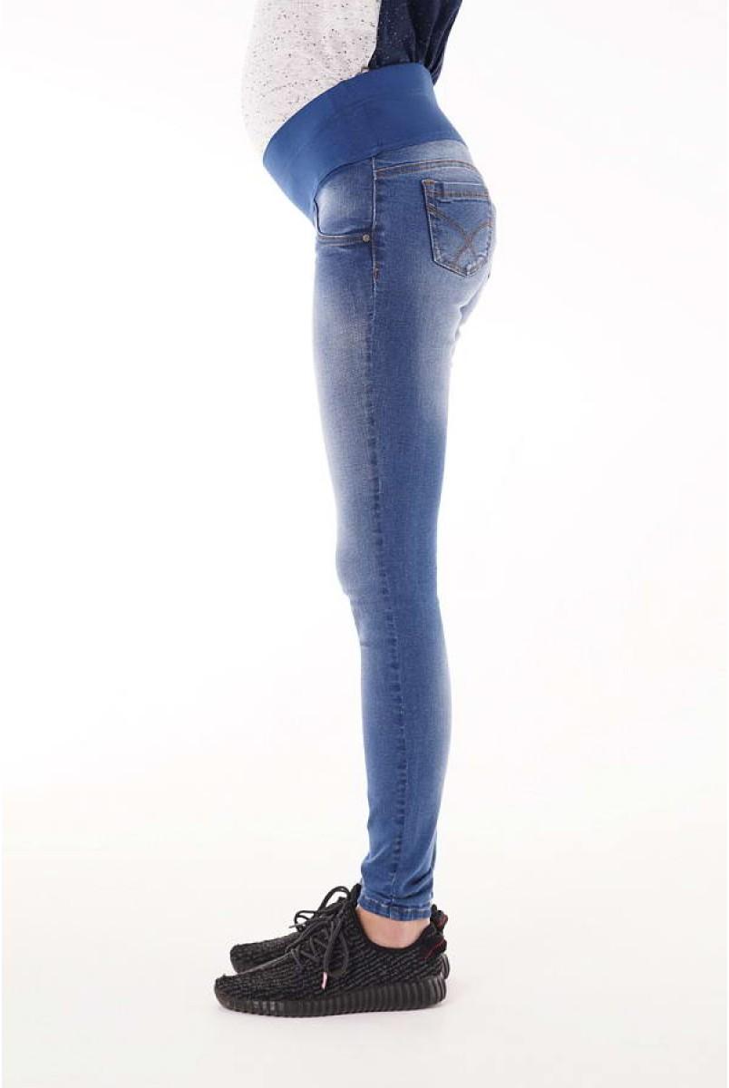 Джинси арт. 1162691-5 синій/варіння для вагітних