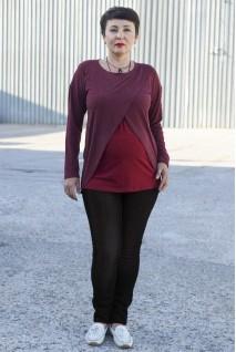 Брюки джинсовые 954733-3В для беременных черный варка
