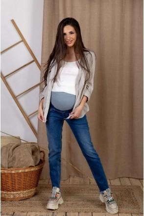 Джинси арт. 4231441 синій варка1 для вагітних