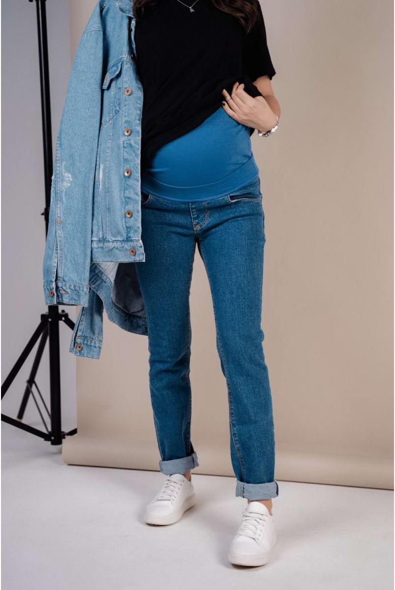 Джинси 1225491-4 синій варка2 для вагітних
