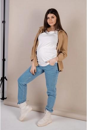 Джинсы для беременных To be 4276491 небесно-голубой