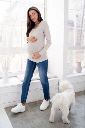 Джинсы для беременных To be 3088491 синий варка 1