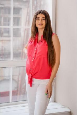Блуза 4186616 малиновий для вагітних