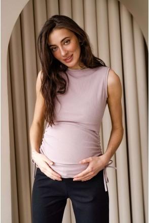Майка 4305138 рожевий для вагітних і годування