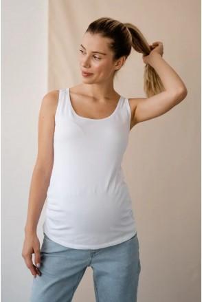 Майка для беременных To be 863041 белый