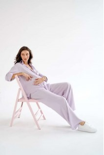 Костюм для беременных и кормления To be 4331749 лавандовый