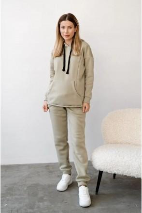 Спортивный костюм для беременных и кормления To be 4218115-4 оливковый