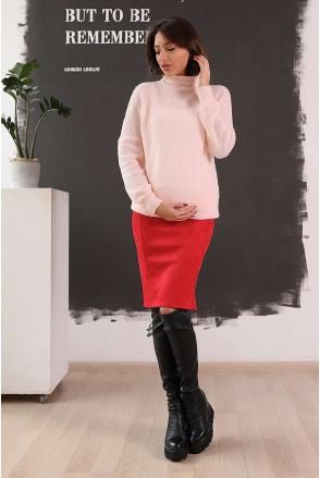 Юбка арт. 4026701 красный для беременных