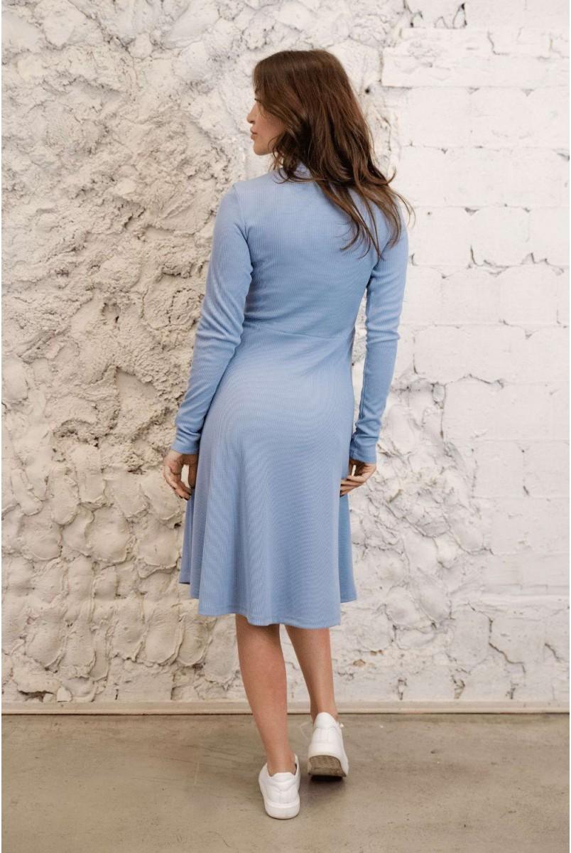 Сукня 4287138 Блакитний для вагітних і годування