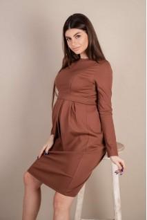 Сукня 4209001 Коричневий Для вагітних і годування