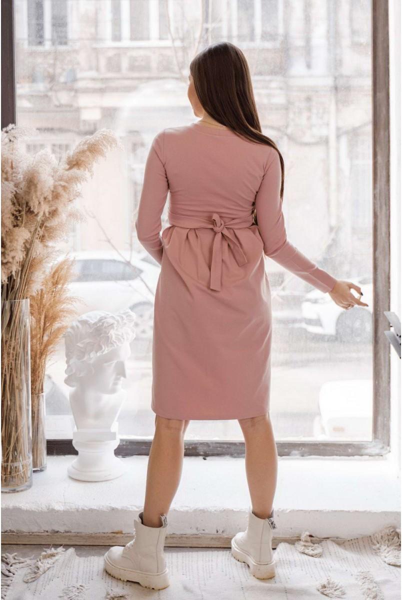 Сукня 4209001 пудра для вагітних і годування