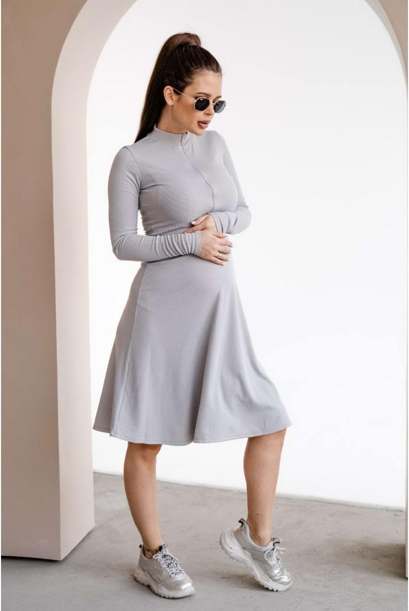 Сукня 4287138 Сірий Для вагітних і годування