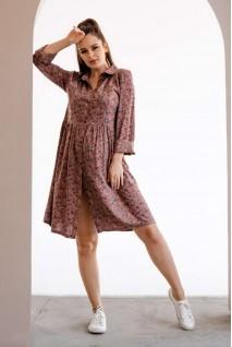 Сукня 4292604 Коричневий Для вагітних і годування