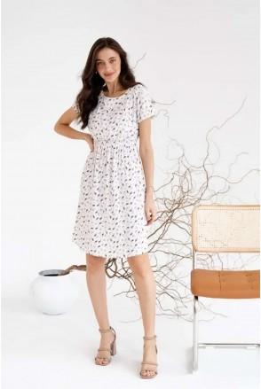 Платье для беременных и кормления To be 3178745 кремовый