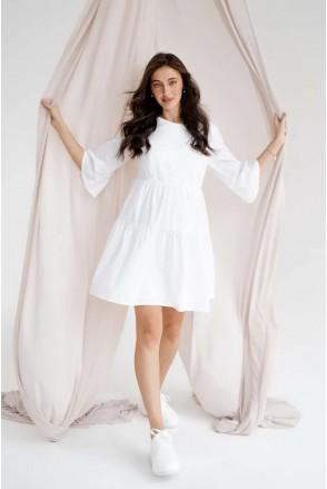 Платье для беременных и кормления To be 4250747 белый