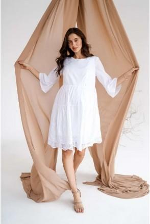 Платье для беременных и кормления To be 4250750 белый