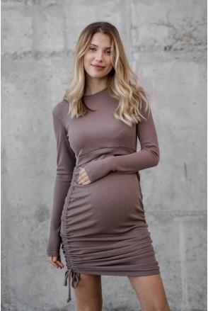 Платье для беременных и кормления To be 4288138 коричневый