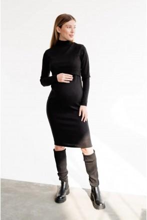 Платье для беременных и кормления To be 4217133 черный