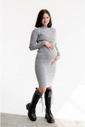 Платье для беременных и кормления To be 4217133 серый