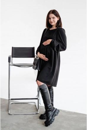 Платье для беременных и кормления To be 4369224 черный