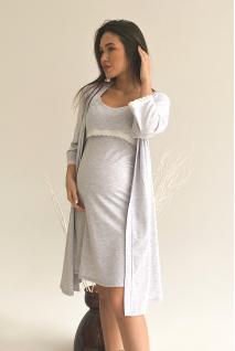 Халат 3057041 Сірий Для вагітних і годування