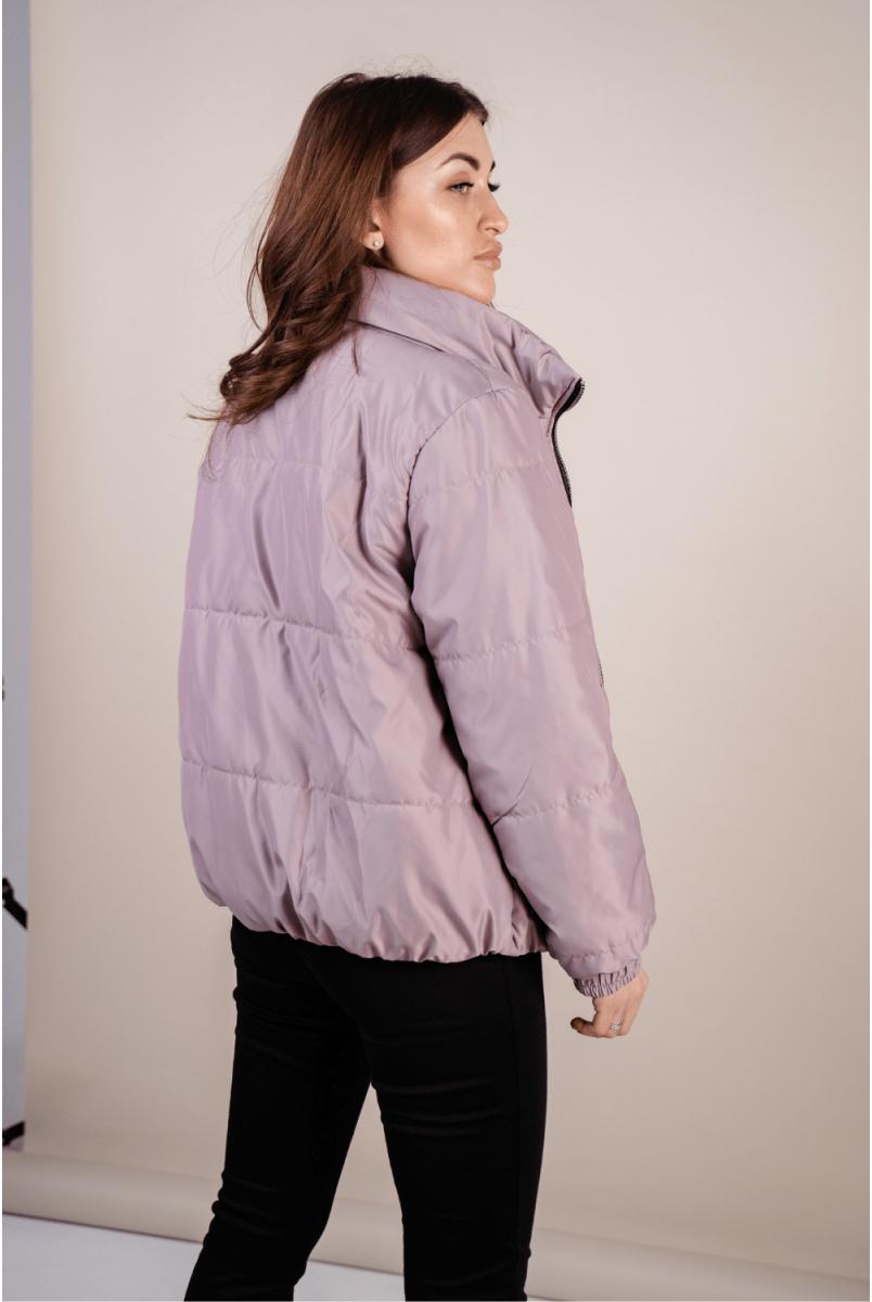 Демісезонна куртка 1462274 суха троянда для вагітних