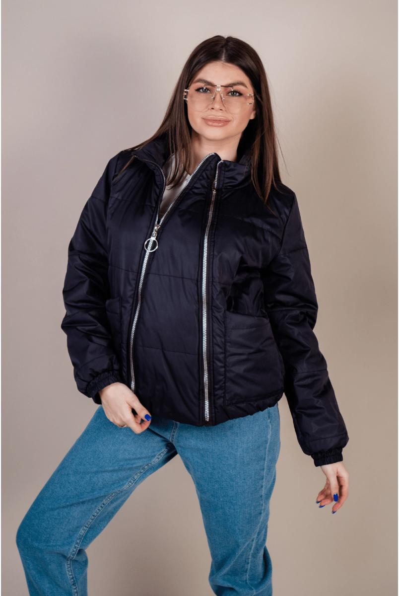 Демісезонна куртка 1462274 графітовий для вагітних