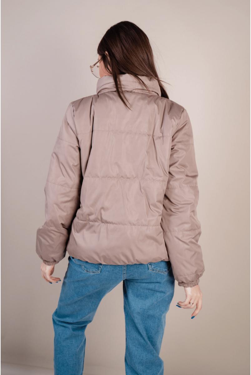 Демісезонна куртка 1462274 бежевий для вагітних