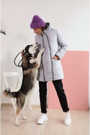 Зимняя куртка 3044274 туман гавани для беременных