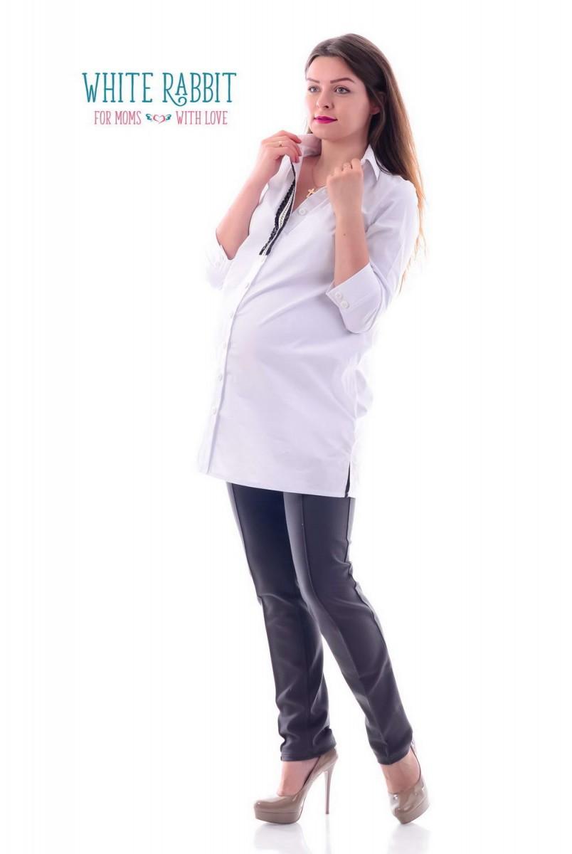 Сорочка Монік (Білосніний) для вагітних і годування