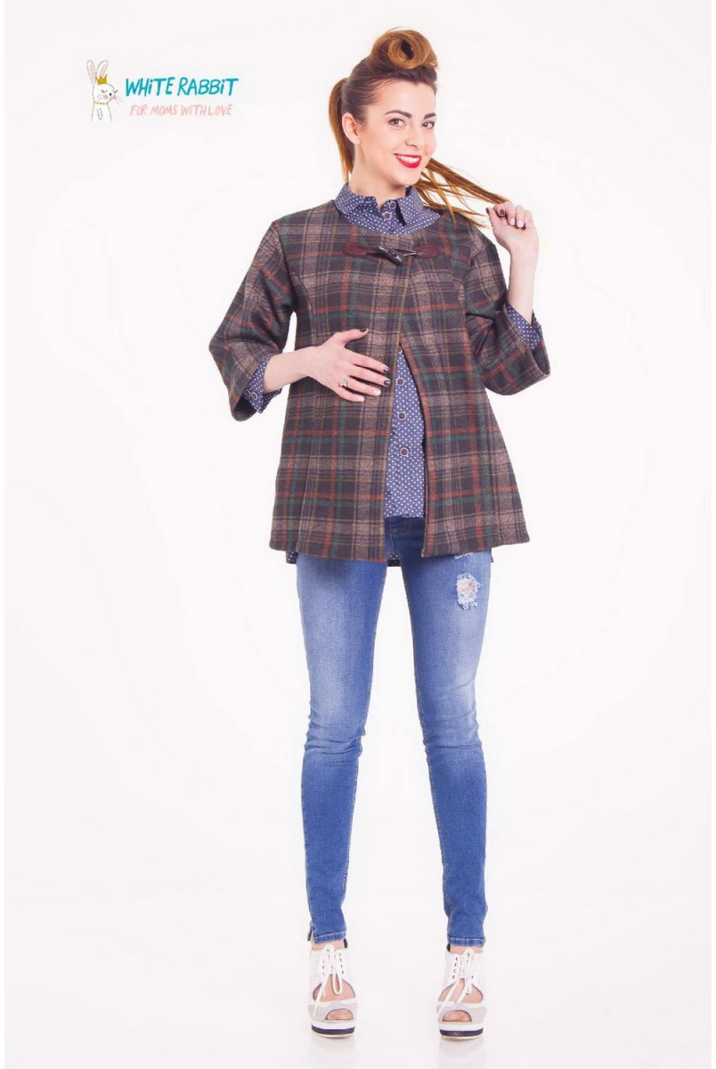 Жакет Pet Jacket (Клітина) для вагітних і годування