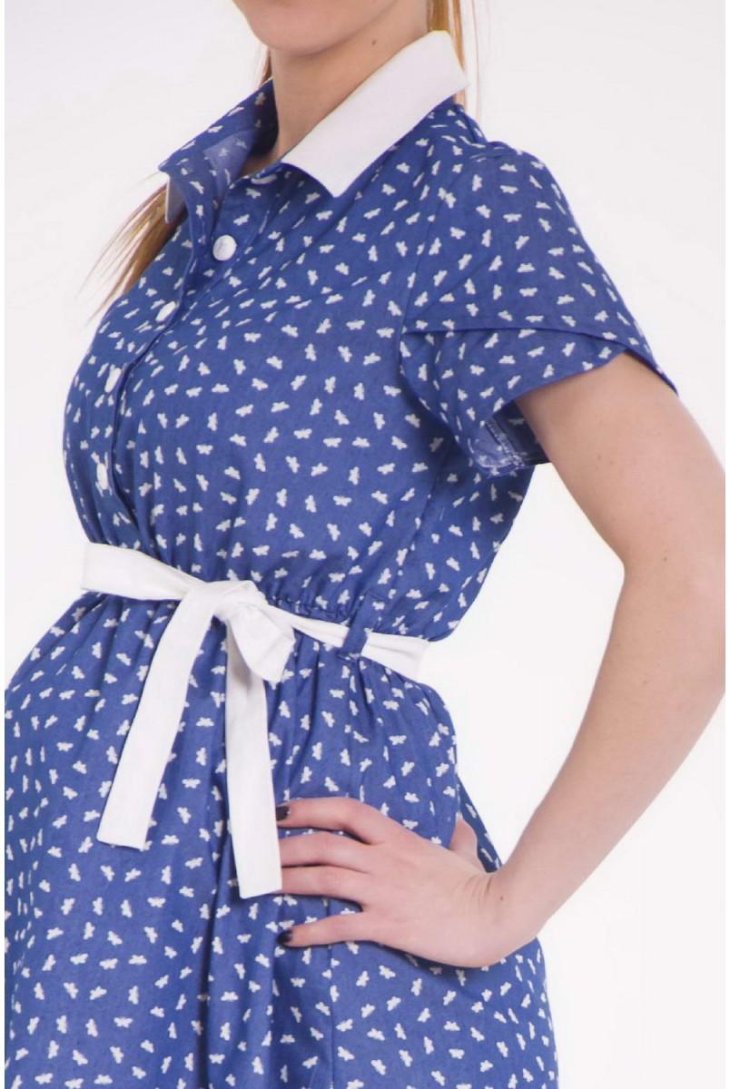 Платье Little Molly (Птички) для беременных и кормящих