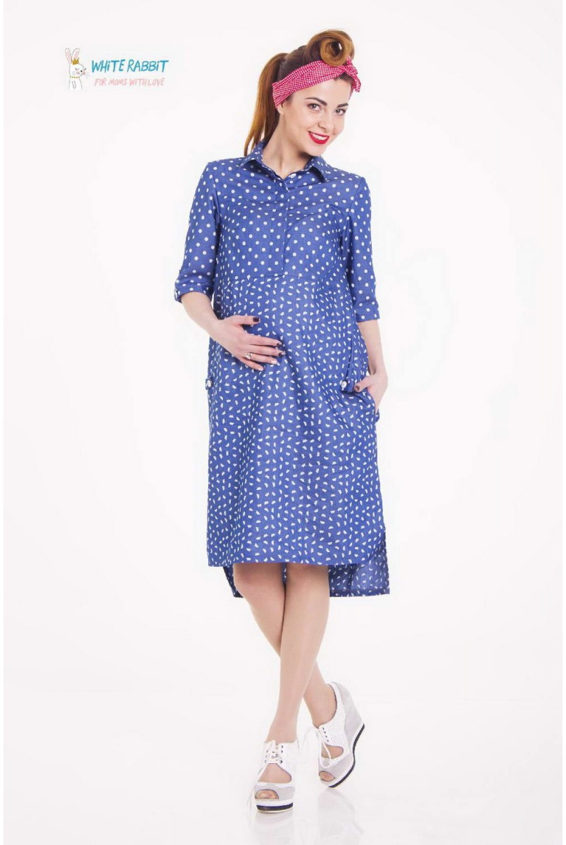 Сукня Coquette (Пташки) для вагітних і годування