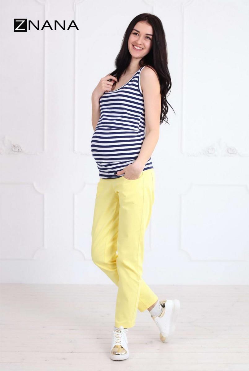 Майка Simple полоса для беременных и кормящих