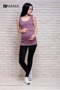 Майка Simple пыльная роза для беременных и кормящих