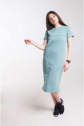 Сукня Move олива для вагітних і годування