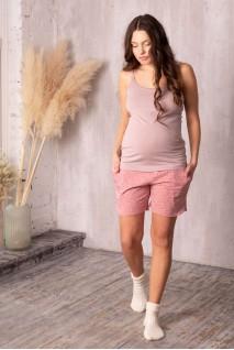 Комплект домашний Joy звездочка/пудра для беременных и кормления
